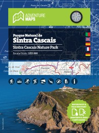 Mapa do Parque Natural de Sintra Cascais