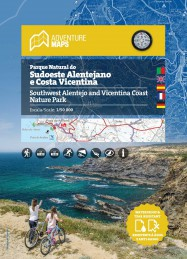 Mapa do Parque Natural do Sudoeste Alentejano e Costa Vicentina